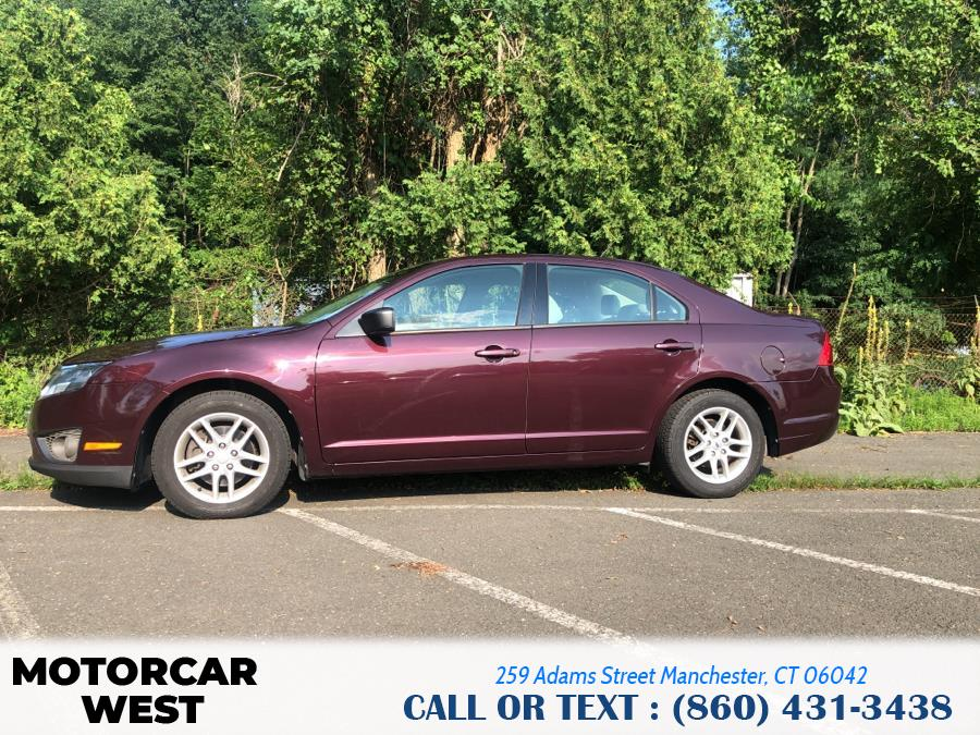 Used Ford Fusion 4dr Sdn S FWD 2012 | Motorcar West. Manchester, Connecticut