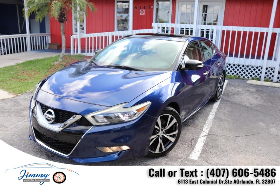 Used Nissan Maxima 4dr Sdn 3.5 Platinum 2016 | Jimmy Motor Car Company Inc. Orlando, Florida