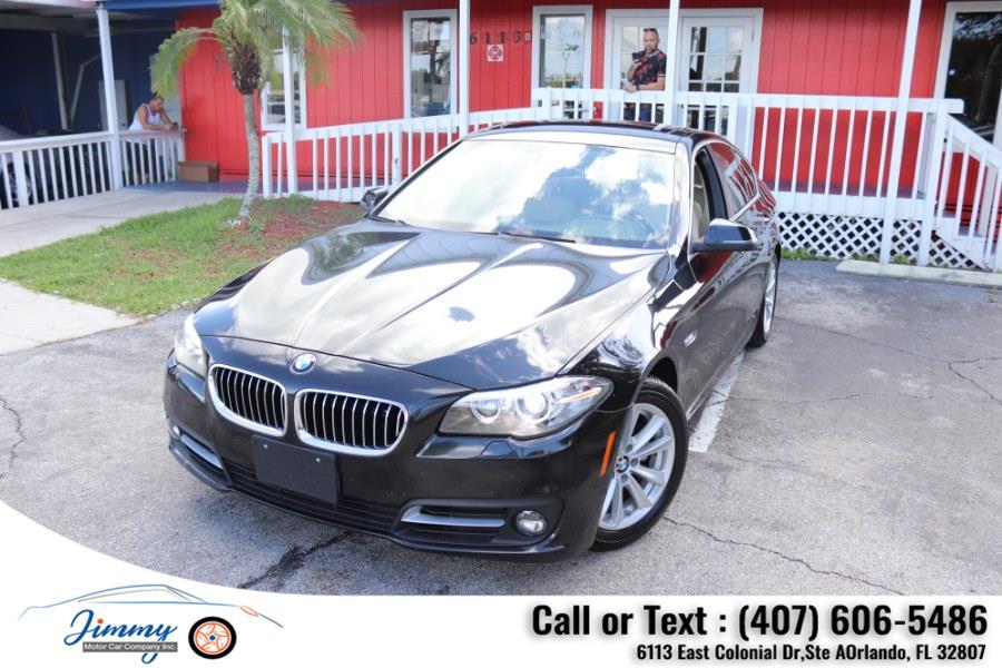Used BMW 5 Series 4dr Sdn 528i xDrive AWD 2015 | Jimmy Motor Car Company Inc. Orlando, Florida