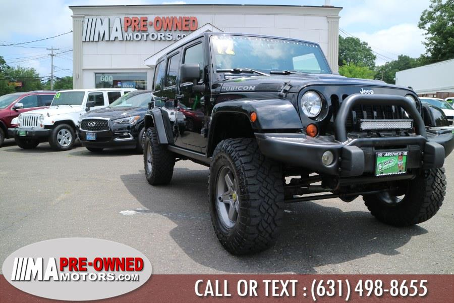 Used Jeep Wrangler Unlimited 4WD 4dr Rubicon 2012 | M & A Motors. Huntington, New York