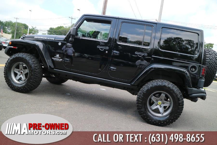 Used Jeep Wrangler Unlimited 4WD 4dr Rubicon 2012   M & A Motors. Huntington, New York