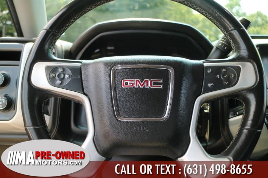 "Used GMC Sierra 1500 4WD Double Cab 143.5"" SLE 2018 | M & A Motors. Huntington, New York"