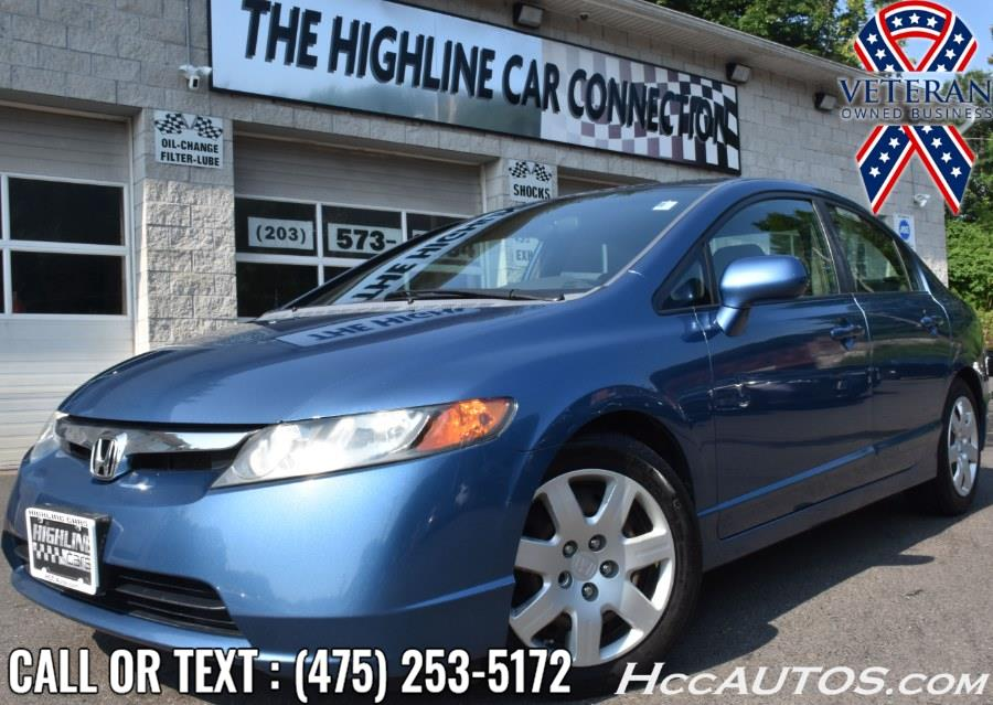 Used Honda Civic Sdn 4dr Man LX 2008   Highline Car Connection. Waterbury, Connecticut