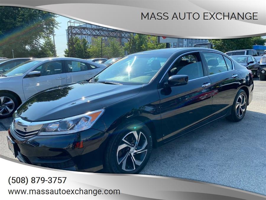 Used 2017 Honda Accord in Framingham, Massachusetts | Mass Auto Exchange. Framingham, Massachusetts
