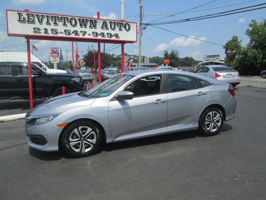 Used 2016 Honda Civic Sedan in Levittown, Pennsylvania | Levittown Auto. Levittown, Pennsylvania