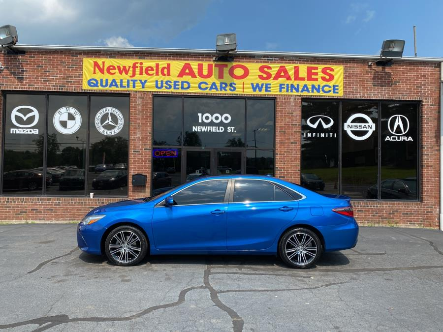 Used Toyota Camry 4dr Sdn I4 Auto SE (Natl) 2016   Newfield Auto Sales. Middletown, Connecticut