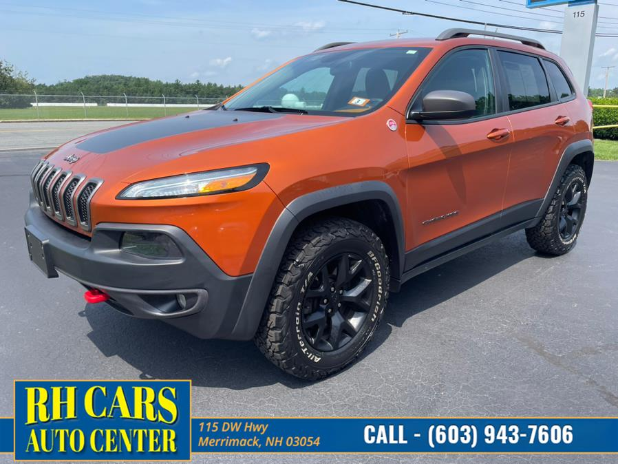 Used 2015 Jeep Cherokee in Merrimack, New Hampshire | RH Cars LLC. Merrimack, New Hampshire