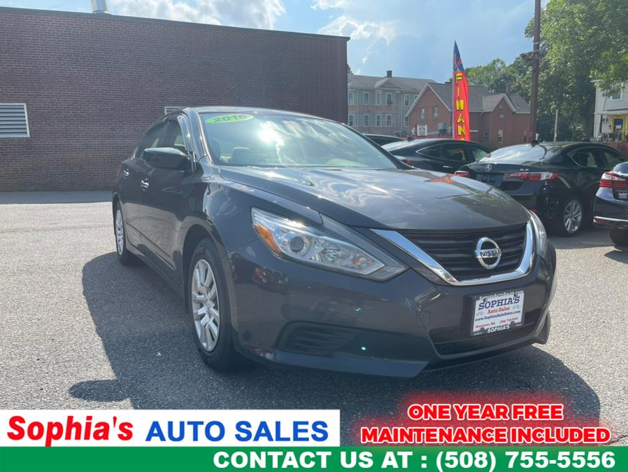 Used Nissan Altima 4dr Sdn I4 2.5 S 2016 | Sophia's Auto Sales Inc. Worcester, Massachusetts