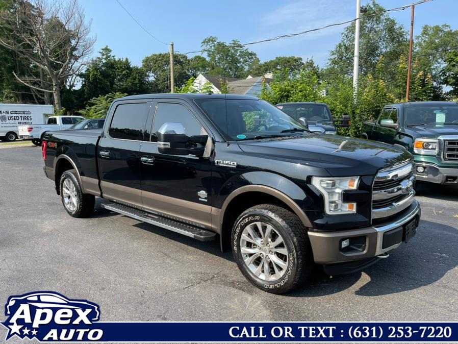 """Used Ford F-150 4WD SuperCrew 145"""" King Ranch 2016 