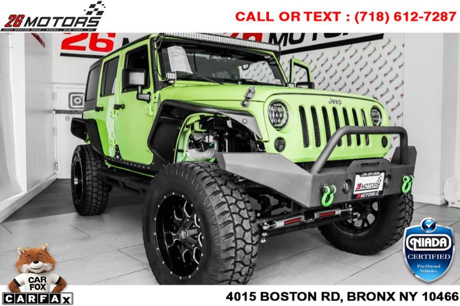 Used Jeep Wrangler Unlimited Sport 4x4 2017 | 26 Motors Corp. Bronx, New York