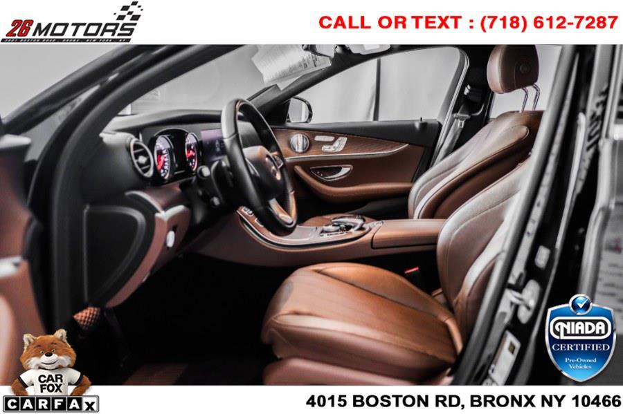 Used Mercedes-Benz E-Class E 300 4MATIC Sedan 2018 | 26 Motors Corp. Bronx, New York