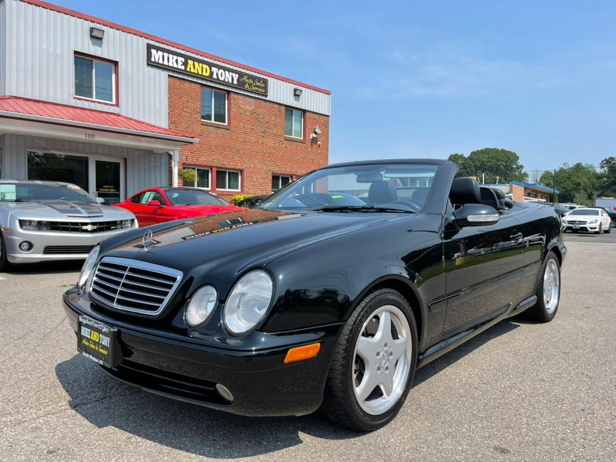 Used Mercedes-Benz CLK-Class 2dr Cabriolet AMG 2002 | Mike And Tony Auto Sales, Inc. South Windsor, Connecticut