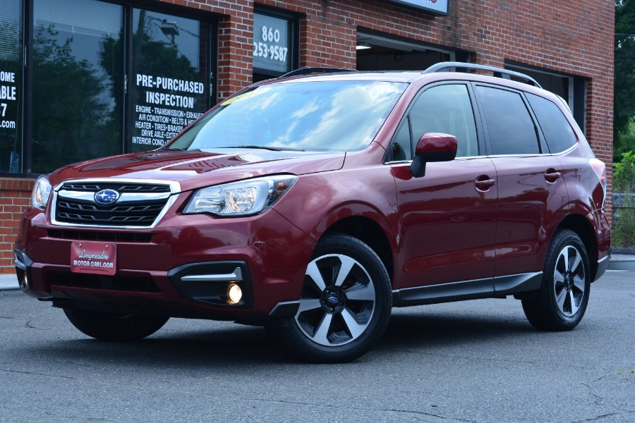 Used 2017 Subaru Forester in ENFIELD, Connecticut   Longmeadow Motor Cars. ENFIELD, Connecticut