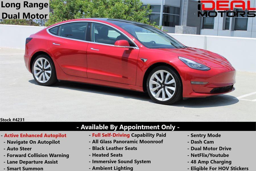 Used 2020 Tesla Model 3 in Costa Mesa, California | Ideal Motors. Costa Mesa, California