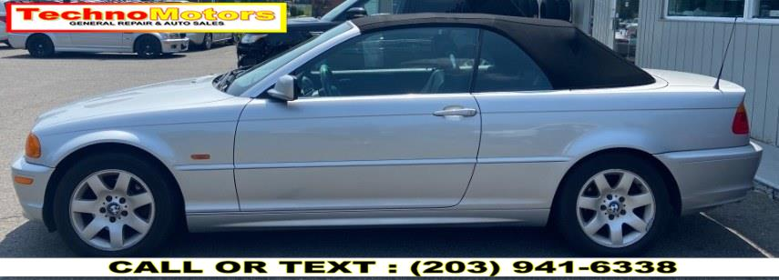 Used BMW 3-Series 323Ci 2dr Convertible 2000   Techno Motors . Danbury , Connecticut
