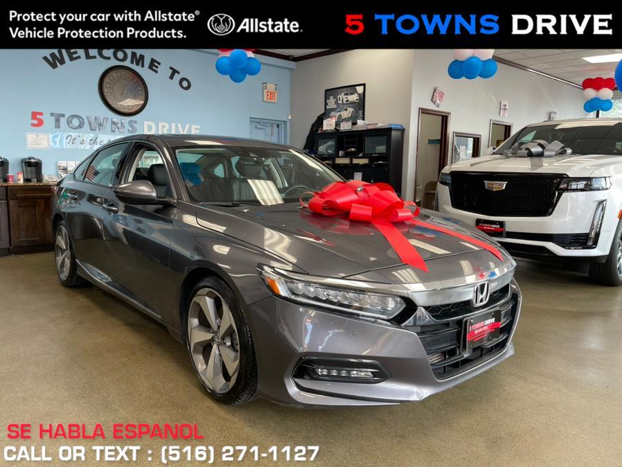 Used Honda Accord Sedan Touring 1.5T CVT 2018 | 5 Towns Drive. Inwood, New York