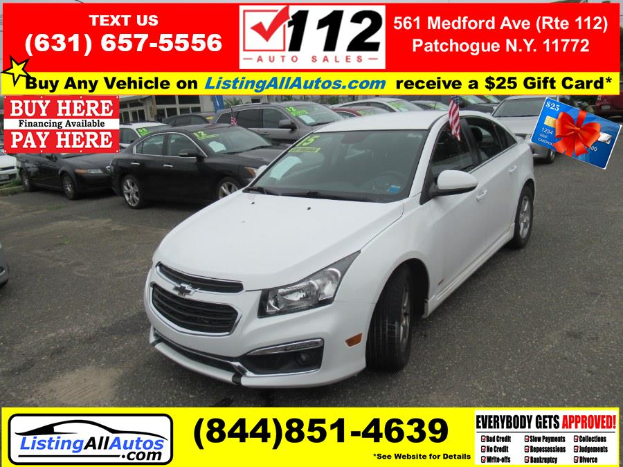 Used 2015 Chevrolet Cruze in Patchogue, New York   www.ListingAllAutos.com. Patchogue, New York