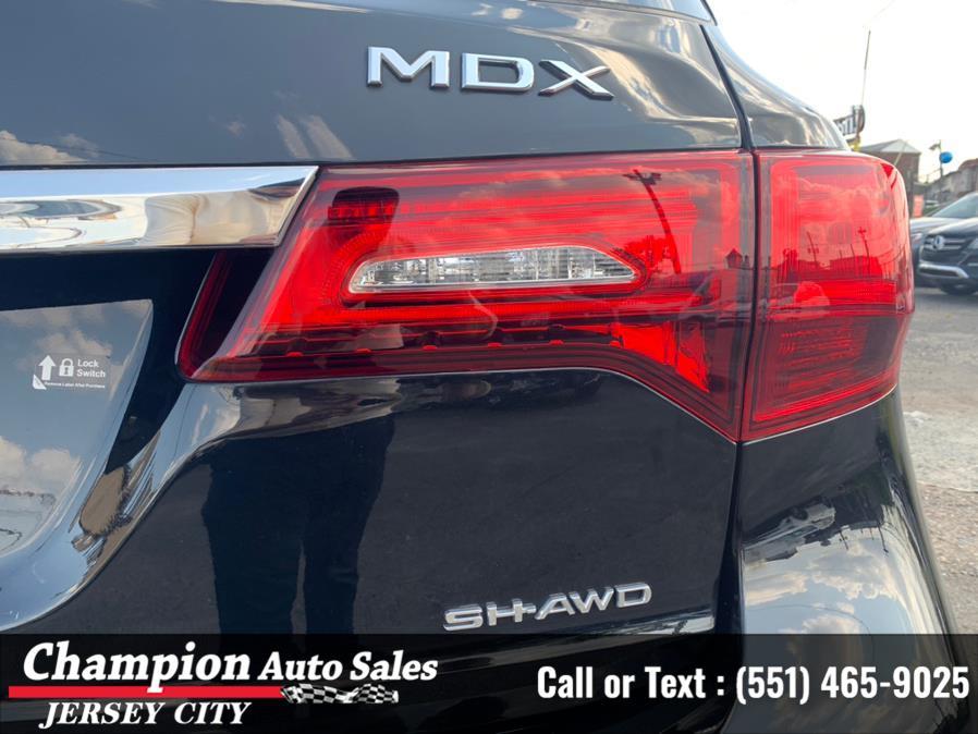 Used Acura MDX SH-AWD w/Advance Pkg 2017   Champion Auto Sales. Jersey City, New Jersey