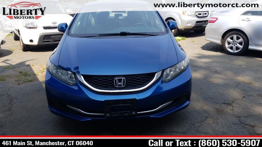 Used Honda Civic Sdn 4dr Auto LX 2013 | Liberty Motors. Manchester, Connecticut