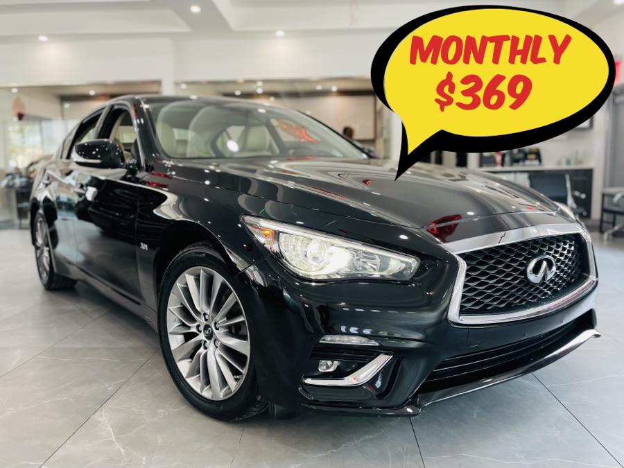 Used INFINITI Q50 3.0t LUXE AWD 2018 | C Rich Cars. Franklin Square, New York