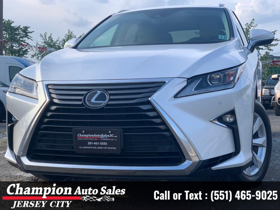 Used Lexus RX RX 350 AWD 2017 | Champion Auto Sales of JC. Jersey City, New Jersey