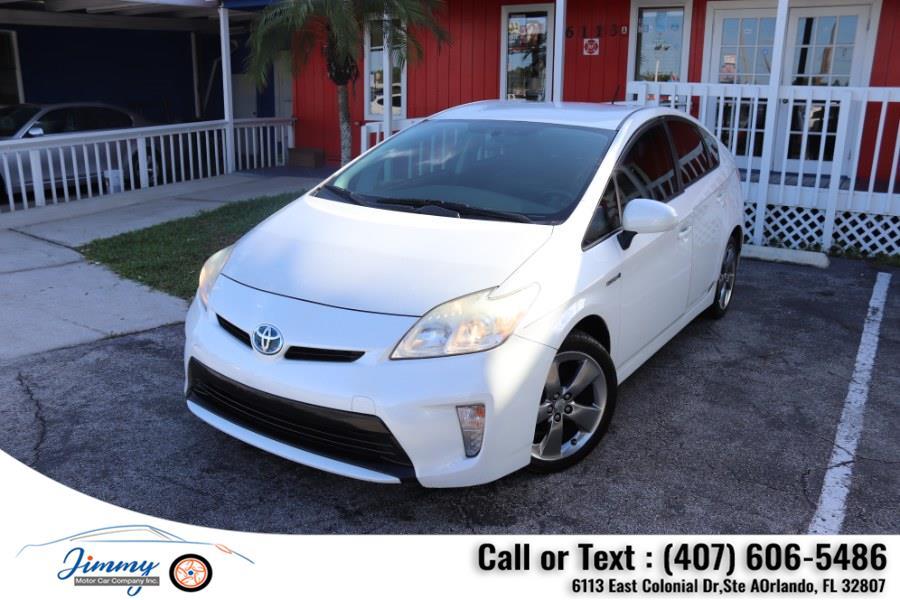 Used Toyota Prius 5dr HB Persona (Natl) 2013 | Jimmy Motor Car Company Inc. Orlando, Florida