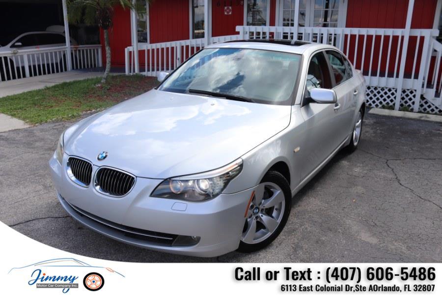 Used BMW 5 Series 4dr Sdn 528i RWD 2008 | Jimmy Motor Car Company Inc. Orlando, Florida