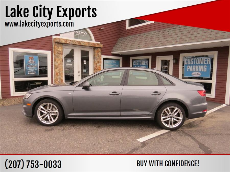 Used Audi A4 2.0T quattro Premium AWD 4dr Sedan w/Season of Aud 2017 | Lake City Exports Inc. Auburn, Maine