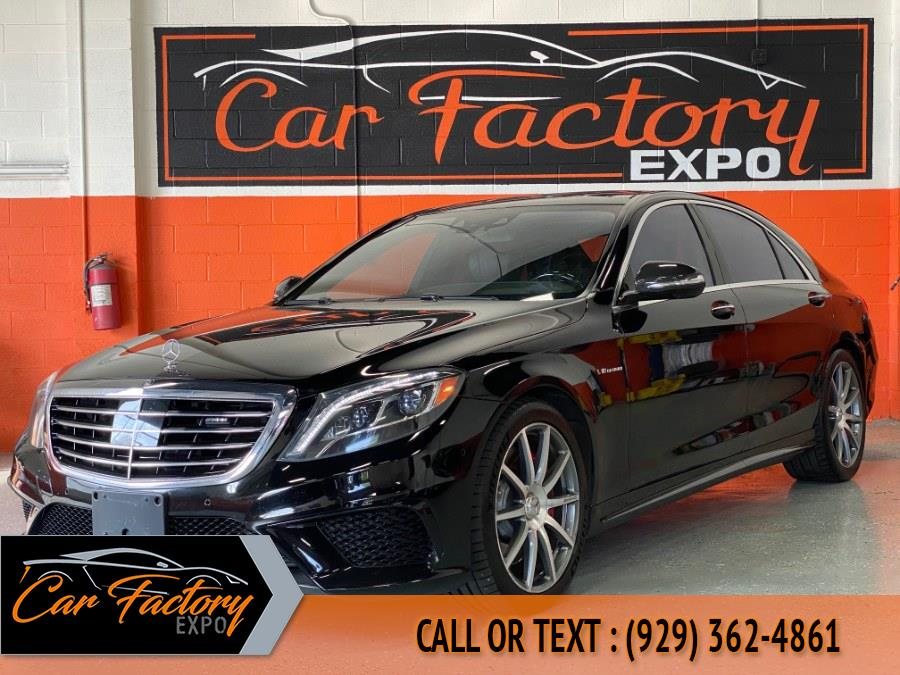 Used Mercedes-Benz S-Class 4dr Sdn S 63 AMG 4MATIC 2015 | Car Factory Inc.. Bronx, New York