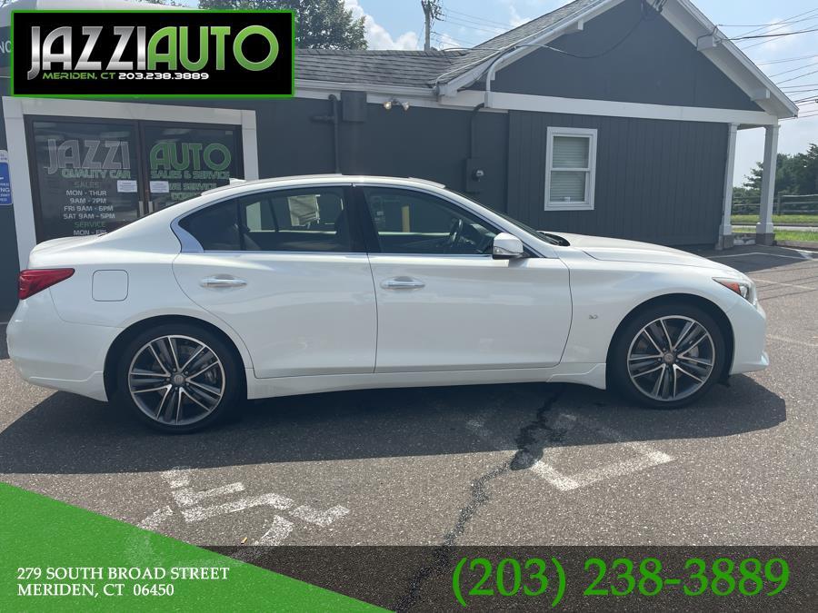 Used 2014 Infiniti Q50 in Meriden, Connecticut   Jazzi Auto Sales LLC. Meriden, Connecticut