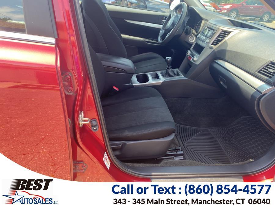 Used Subaru Legacy 4dr Sdn H4 Man 2.5i 2014   Best Auto Sales LLC. Manchester, Connecticut