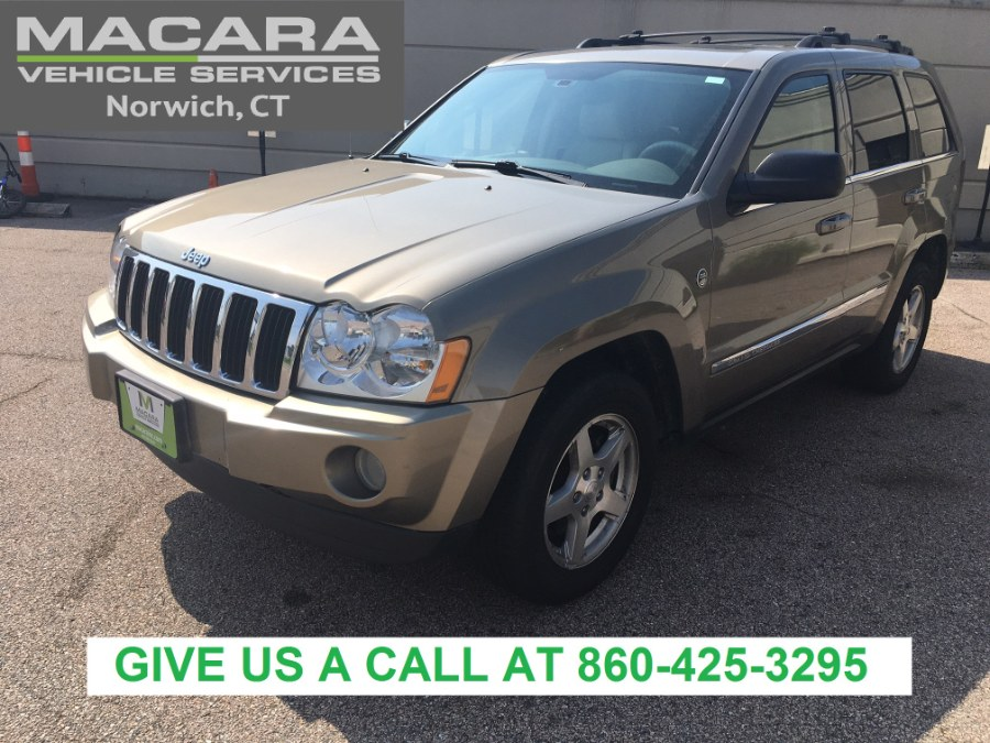 Used Jeep Grand Cherokee 4dr Limited 4WD 2005 | MACARA Vehicle Services, Inc. Norwich, Connecticut