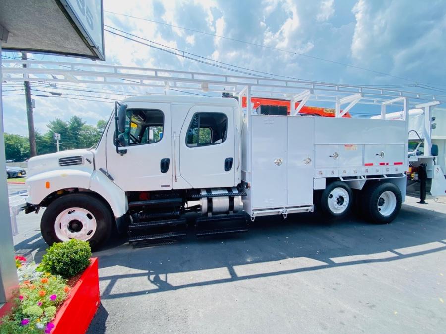 Used Freightliner M2 CREW CAB PALFINGER PK 11001 CRANE UTILITY MECHANIC 2010 | NJ Truck Spot. South Amboy, New Jersey