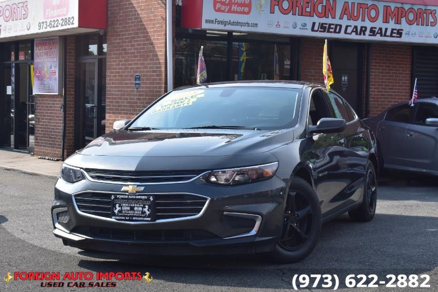 Used 2018 Chevrolet Malibu in Irvington, New Jersey | Foreign Auto Imports. Irvington, New Jersey