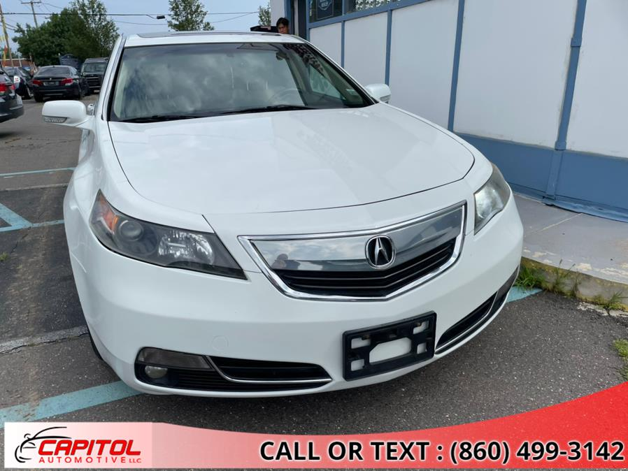 Used Acura TL 4dr Sdn Auto 2WD Tech 2014 | Capitol Automotive 2 LLC. Manchester, Connecticut
