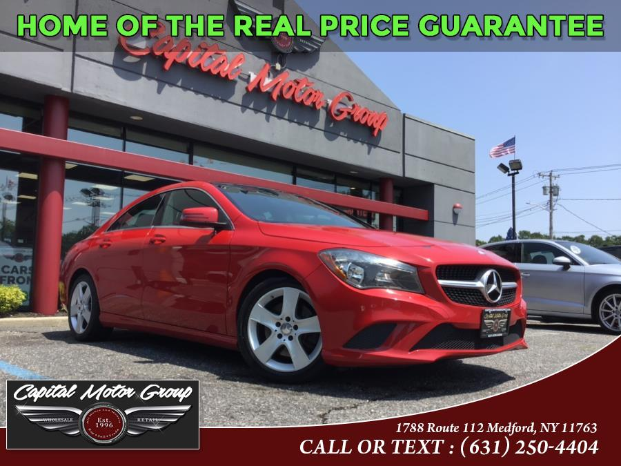 Used Mercedes-Benz CLA-Class 4dr Sdn CLA 250 4MATIC 2015 | Capital Motor Group Inc. Medford, New York