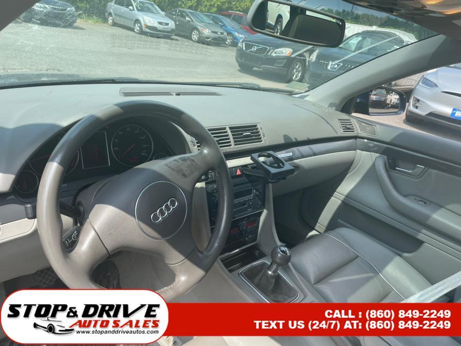 Used Audi A4 2005 Wgn 1.8T Avant quattro Man 2005 | Stop & Drive Auto Sales. East Windsor, Connecticut