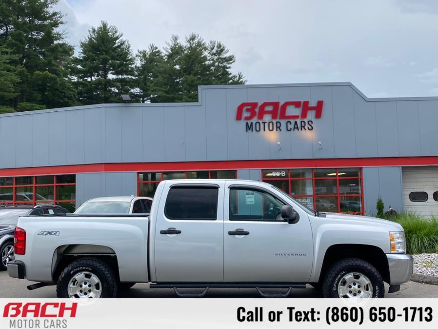 "Used Chevrolet Silverado 1500 4WD Crew Cab 143.5"" LT 2013 | Bach Motor Cars. Canton , Connecticut"