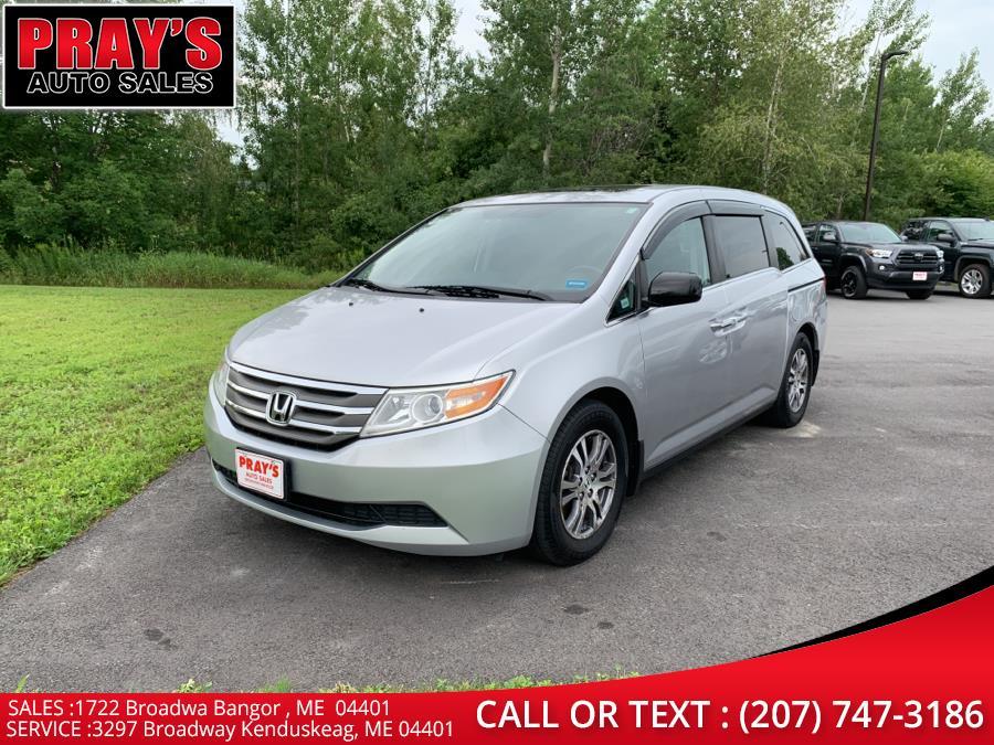 Used Honda Odyssey 5dr EX-L 2011   Pray's Auto Sales . Bangor , Maine