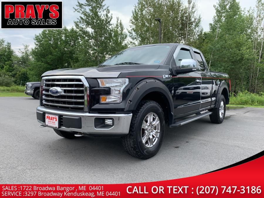 """Used Ford F-150 4WD SuperCab 145"""" XLT 2015   Pray's Auto Sales . Bangor , Maine"""