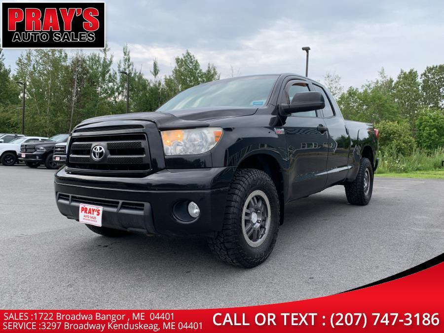 Used Toyota Tundra 4WD Truck Dbl 5.7L V8 6-Spd AT (Natl) 2011 | Pray's Auto Sales . Bangor , Maine
