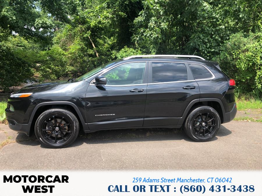 Used Jeep Cherokee 4WD 4dr Limited 2015 | Motorcar West. Manchester, Connecticut