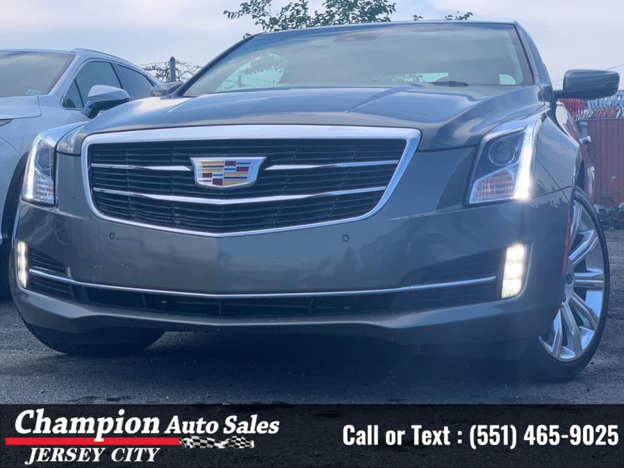 Used Cadillac ATS Coupe 2dr Cpe 2.0L Luxury AWD 2017 | Champion Auto Sales of JC. Jersey City, New Jersey