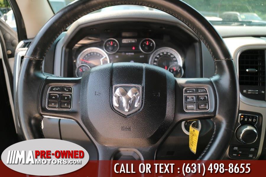 "Used Ram 1500 4WD Quad Cab 140.5"" SLT 2016   M & A Motors. Huntington, New York"