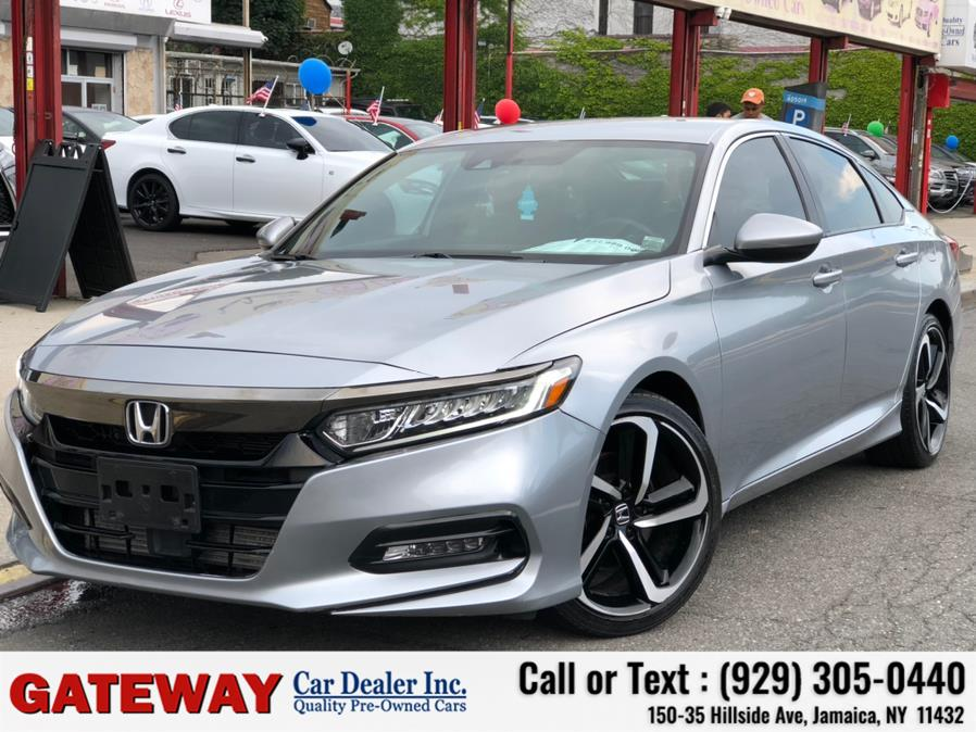Used Honda Accord Sedan Sport 1.5T CVT 2018   Gateway Car Dealer Inc. Jamaica, New York