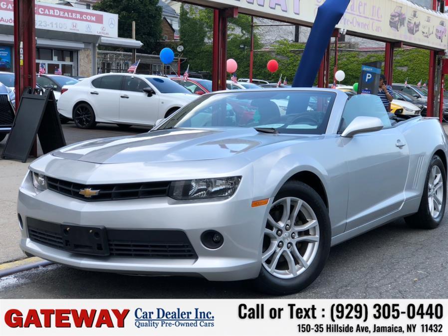 Used Chevrolet Camaro 2dr Conv LT w/1LT 2015 | Gateway Car Dealer Inc. Jamaica, New York
