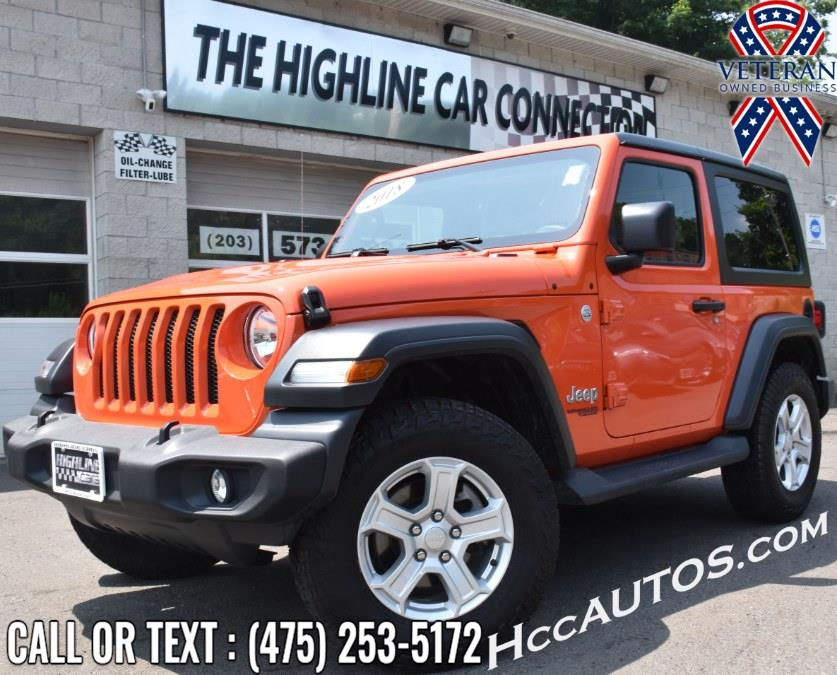 Used Jeep Wrangler Sport S 4x4 2018   Highline Car Connection. Waterbury, Connecticut