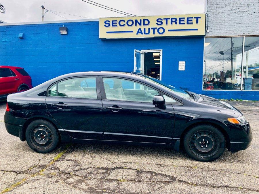 Used Honda Civic Sdn 4dr Man LX 2008 | Second Street Auto Sales Inc. Manchester, New Hampshire