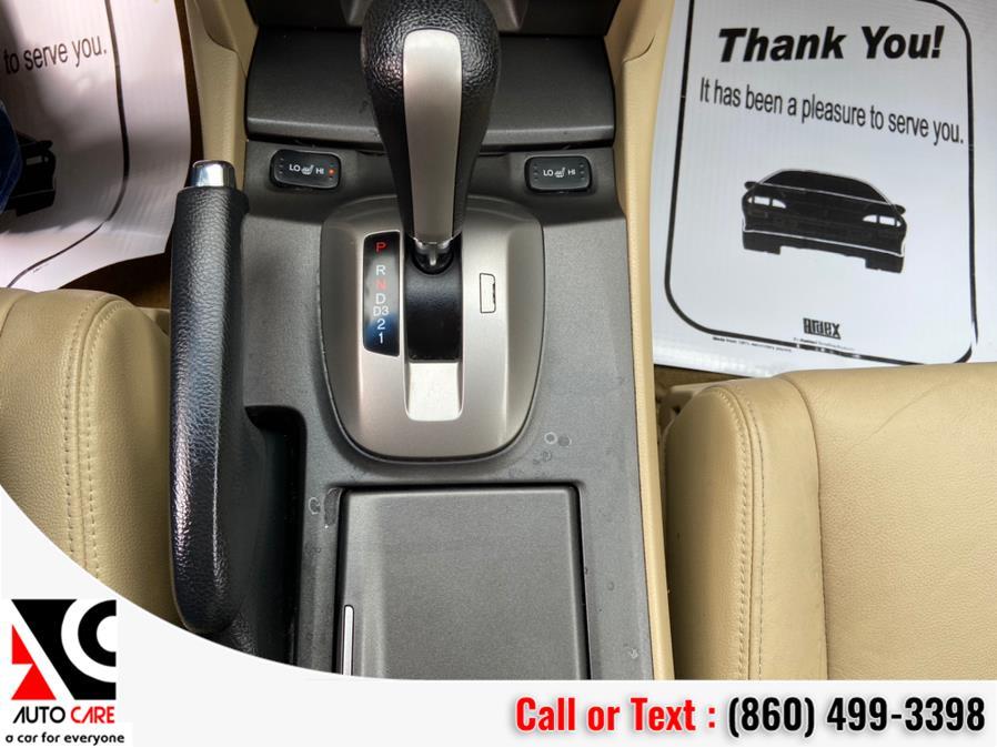 Used Honda Accord Sdn 4dr V6 Auto EX-L w/Navi 2012 | Auto Care Motors. Vernon , Connecticut