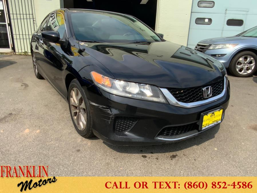 Used 2014 Honda Accord Coupe in Hartford, Connecticut   Franklin Motors Auto Sales LLC. Hartford, Connecticut